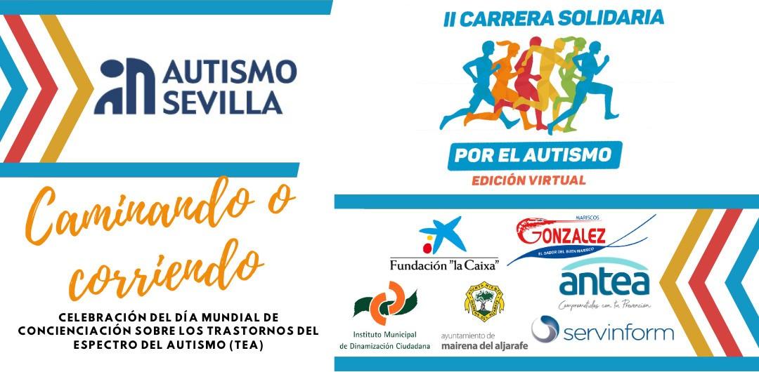 II Carrera Solidaria por el Autismo - Edición Virtual 3k, correr por una buena causa