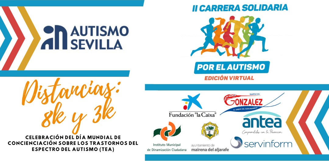 II Carrera Solidaria por el Autismo - Edición Virtual 3k, distancias