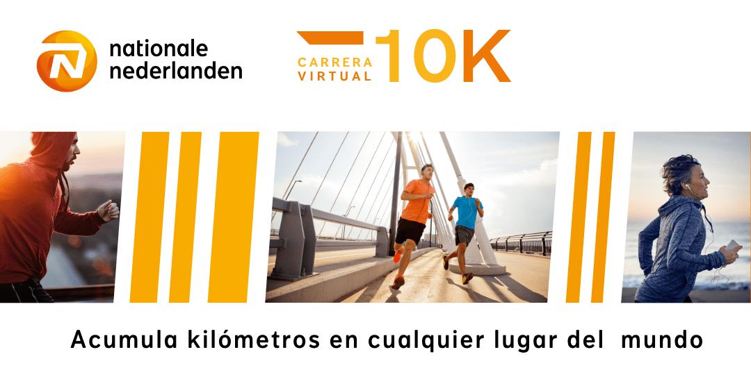 Carrera virtual Sigo corriendo en 2021 con Nationale-Nederlanden, acumula kilómetros