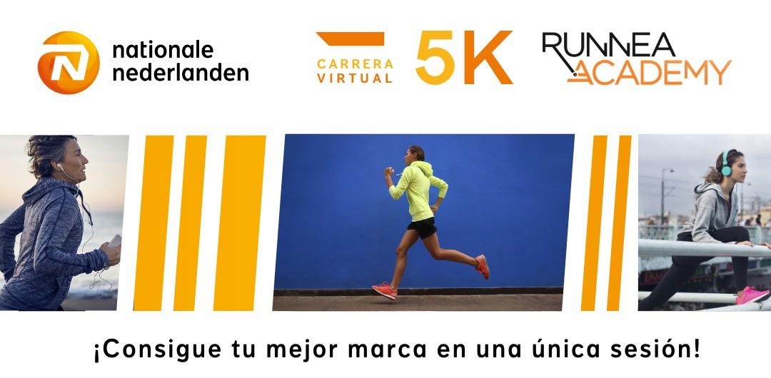 carrera virtual Tus 5km más rápidos: cómo participar