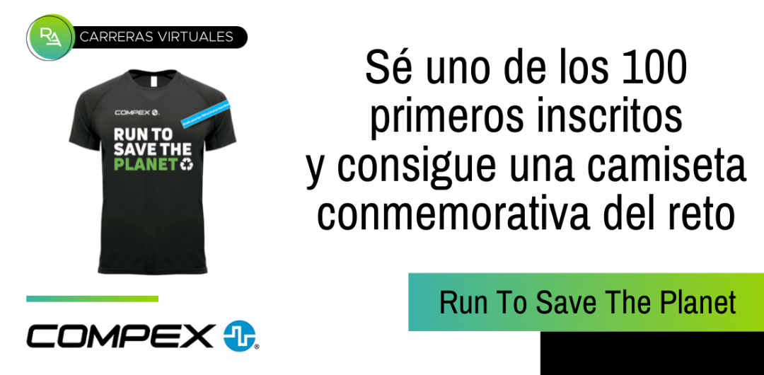 Run To Save The Planet: Camiseta